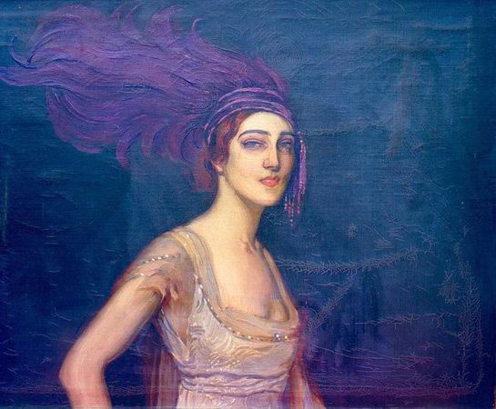 Портрет Иды Рубинштейн работы Антонио де Ла Гандара. Изображение № 22.