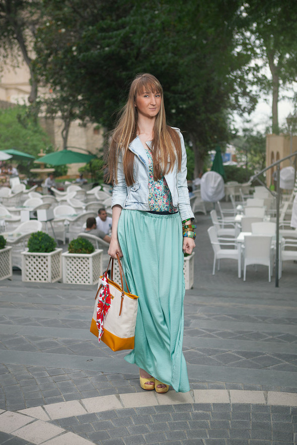 Baku Street Fashion Summer 2012 Look At Me