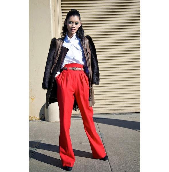 Изображение 141. На полях: 10 тенденций уличного стиля с прошедших недель моды.. Изображение № 141.