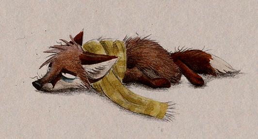 Забавные иллюстрации из жизни лисиц от Skia. Изображение № 7.