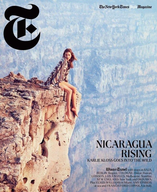 Вышли новые обложки i-D, Vogue, NY Times и других журналов. Изображение № 4.
