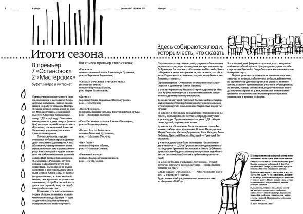 Изображение 4. Реплика. Газета о театре и других искусствах. Новый номер... Изображение № 4.