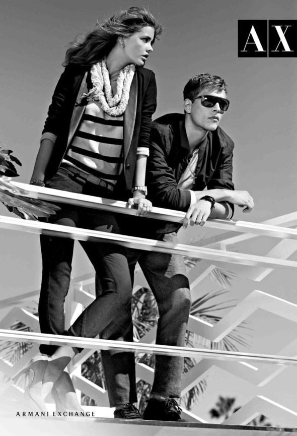 Превью кампаний: Armani Exchange, Hermes и Jil Sander Navy. Изображение № 2.