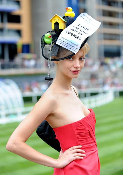 Самые необычные иизысканных шляпки Royal Ascot. Изображение № 10.