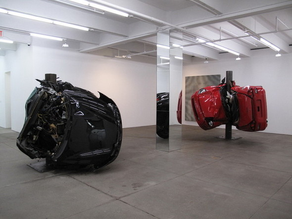 Скульптуры из разбитых машин Dirk Skreber. Изображение № 4.