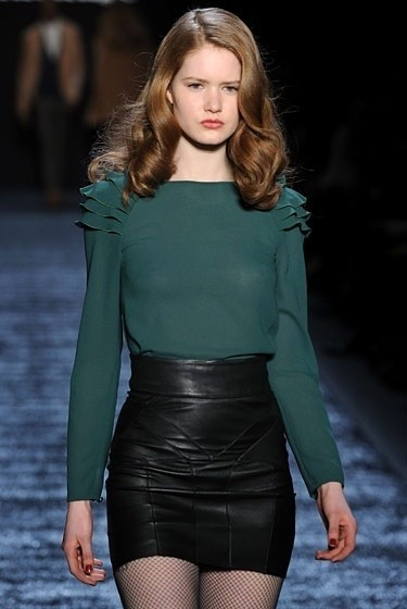 Изображение 12. Beauty looks на неделе моды в Нью-Йорке.. Изображение № 12.