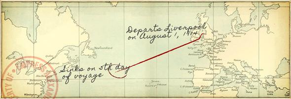 """По следам Титаника. Книга """"Шлюпка"""" Шарлотты Роган. Изображение № 5."""