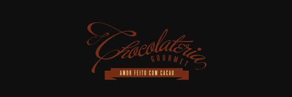 День шоколада. Вкусные шоколадные логотипы. Изображение № 11.