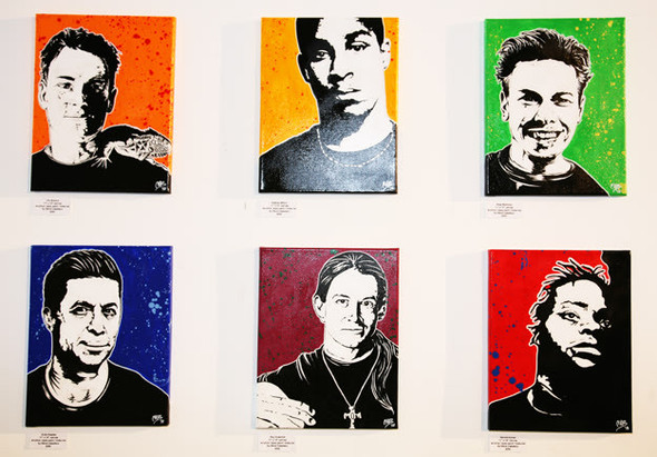 К доске: 10 художников-скейтбордистов. Изображение №38.