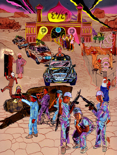 Бруклинские краски Джеймса Благдена. Изображение № 7.