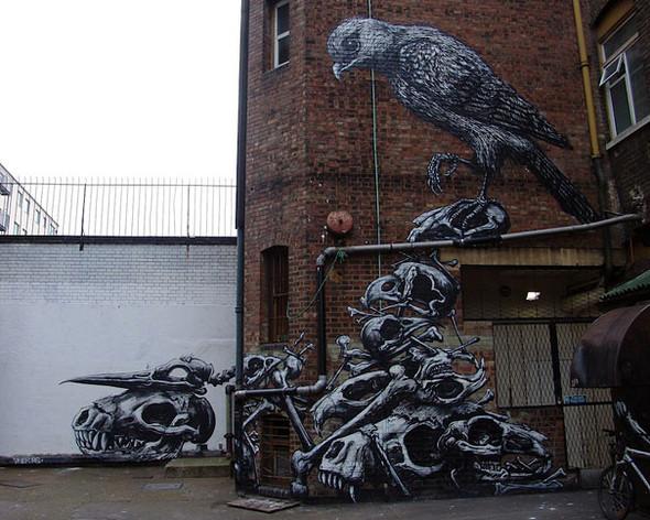 Большая коллекция уличного искусства. Изображение № 22.