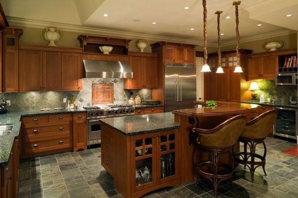Сочетание цвета в интерьере кухни. Изображение № 2.