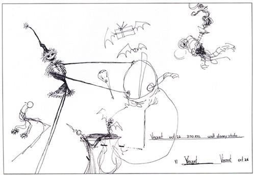 Бертон Руки-Ножницы: выставка Тима Бертона. Изображение № 1.