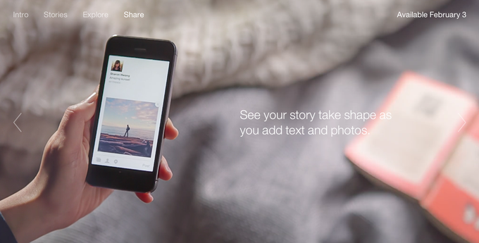 Facebook запускает новостное приложение Paper. Изображение № 4.