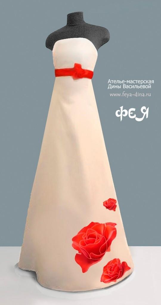 коллекция свадебных платьев от ателье - мастерской Дины Васильевой. Изображение № 5.