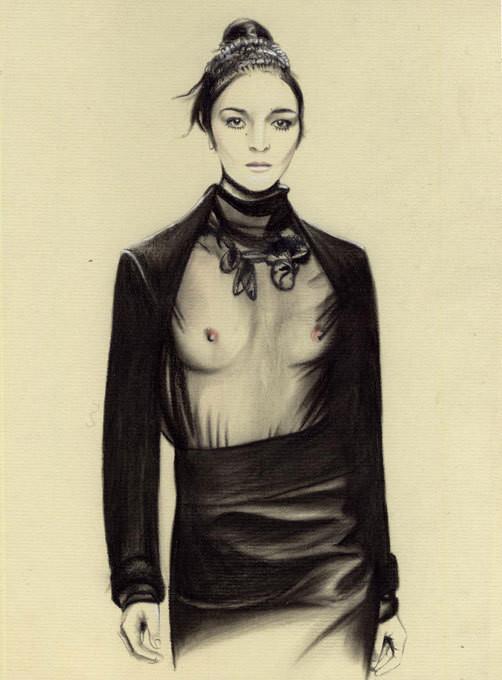 Изображение 31. Акварельные иллюстрации Caroline Andrieu.. Изображение № 31.