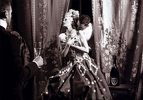 Клаудиа Шиффер, Ева Герцигова - и Дом Периньон. Изображение № 7.