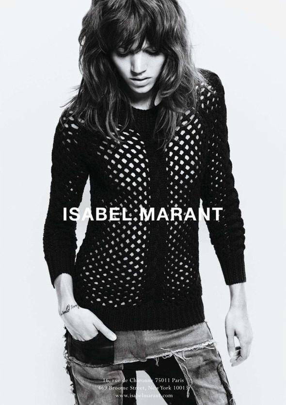 Кампания: Фрея Беха Эриксен для Isabel Marant FW 2011. Изображение № 1.