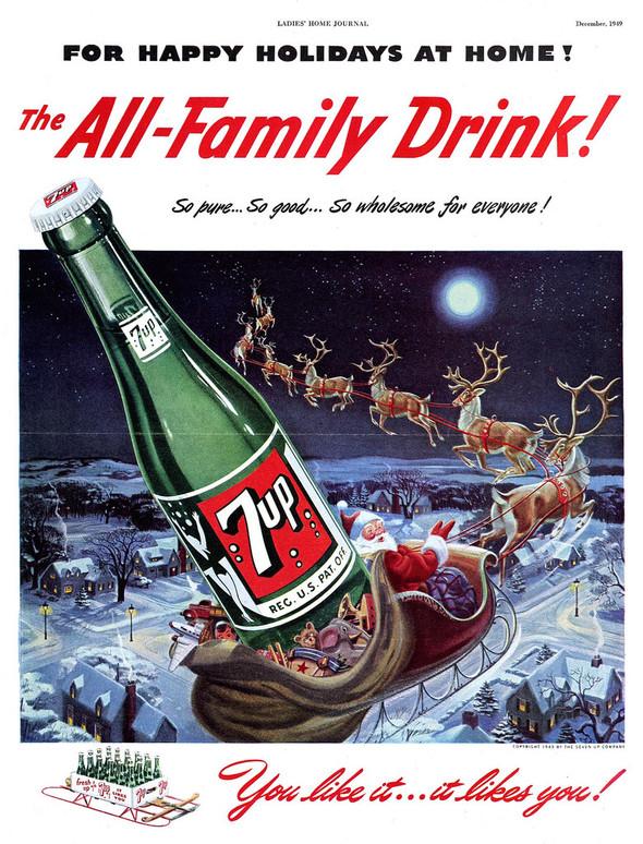 69 рождественских рекламных плакатов. Изображение № 27.
