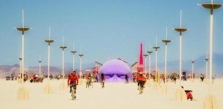 """Фестиваль """"Burning Man! """" вНеваде. Изображение № 11."""