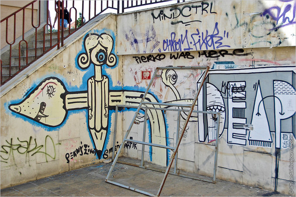 Стрит-арт и граффити Братиславы, Словакия. Изображение № 35.