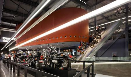 Музей Harley-Davidson вМилуоки. Изображение № 4.