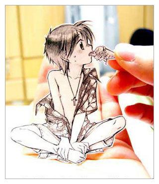 Фотоработы аниме избумаги. Изображение № 3.