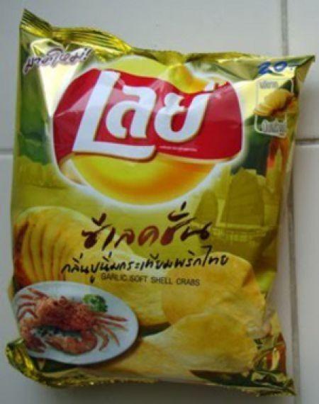 Несъедобное съедобно - какие бывают чипсы. Изображение № 16.