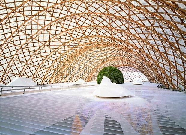 Японский павильон Expo'2000. Изображение № 7.