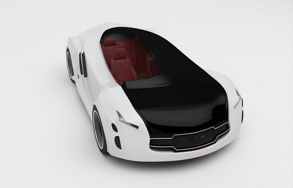 Astrum Meera - проект очень красивого автомобиля со многочисленными нововведениями. Изображение № 6.