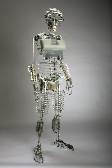 Джереми Майер- скульптуры изпишущих машинок. Изображение № 2.