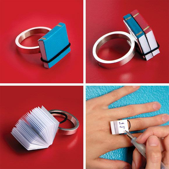 Кольцо – записная книжка. Изображение № 1.