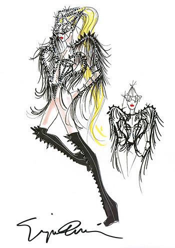 Леди Гага снова поработает с Армани. Изображение № 3.