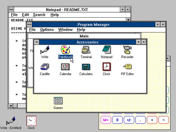 Изображение 3. Эволюция Windows.. Изображение № 3.
