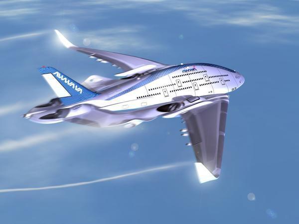 Дизайнер показал проект самолёта будущего. Изображение № 1.