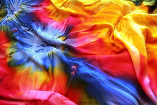 Тай-Дай (он же Шибори) - одежда в стиле радуги. Изображение № 15.