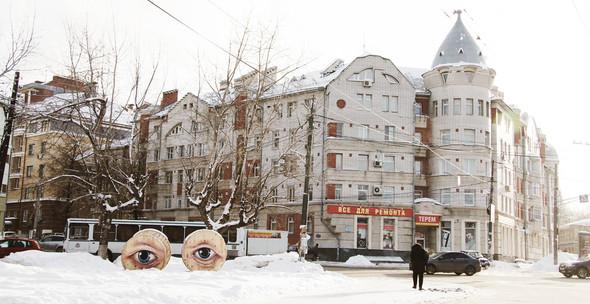 Живой стрит-арт Никиты Nomerz. Изображение № 1.