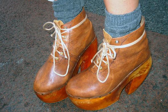 Обувь на неделе моды в Лондоне. Изображение № 7.
