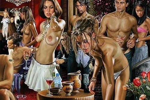 Изображение 6. Терри Роджерс выбрал для своего творчества тему молодежных фетишей: желание во всех ее переизбытках.. Изображение № 6.