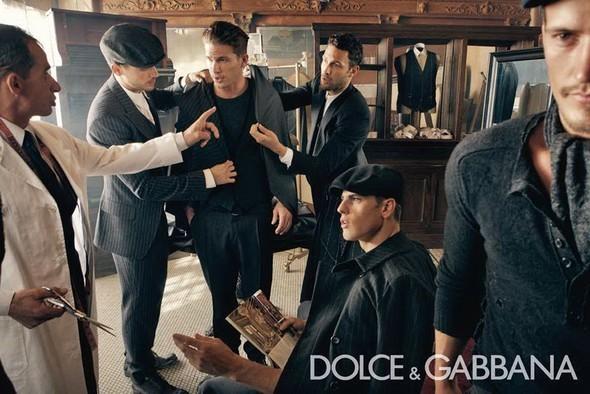Dolce & Gabbana Fall 2010. Изображение № 8.