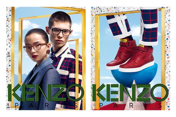 Вышли новые кампании Saint Laurent Paris, Kenzo и Carven. Изображение № 9.