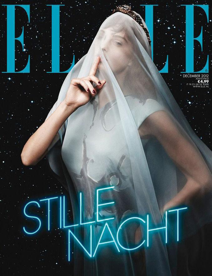 Вышли новые обложки Numero, Muse, Elle и других журналов. Изображение № 1.