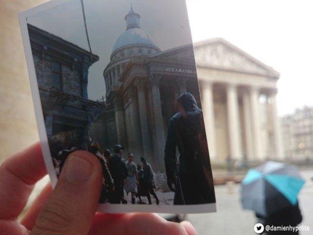 Дизайнер сравнил Париж в Assassin's Creеd и реальности. Изображение № 5.
