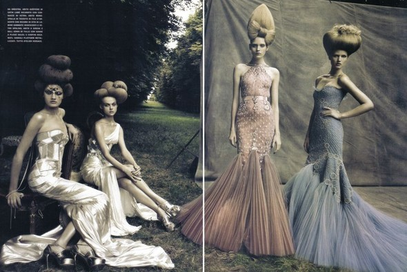 A Dream Of A Dress. Vogue Italia September 2009. Изображение № 13.