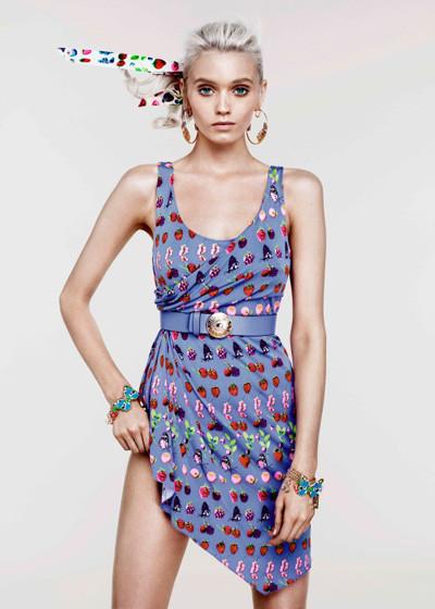 Лукбук: Эбби Ли Кершо для Versace for H&M Cruise 2012. Изображение № 3.