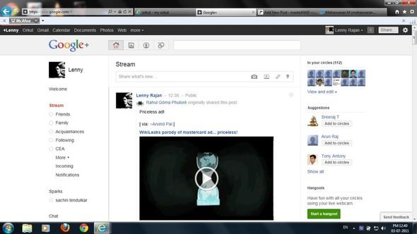 Google Plus: социальная сеть не для всех. Плюс инвайты. Изображение № 9.