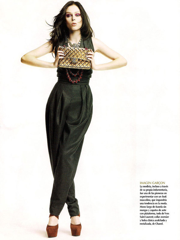 Oda a Coco Coco Rocha in Vogue Mexico September. Изображение № 4.