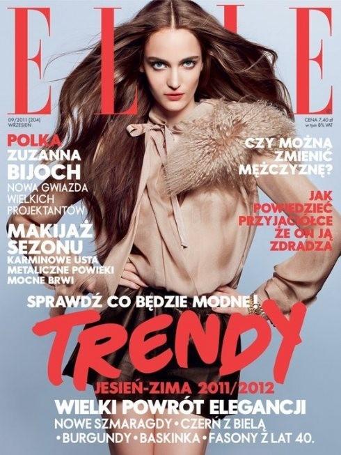 Обложки: Elle, Glamoholic, Marie Claire. Изображение № 3.