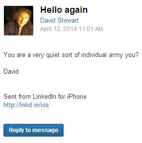 Странные письма из LinkedIn собирают в блоге CreepedIn. Изображение № 4.