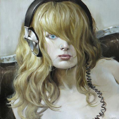 Jonathan Viner – портреты красавиц внаушниках. Изображение № 2.